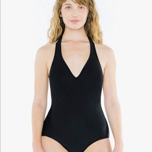 American Apparel Halter Bathing Suits